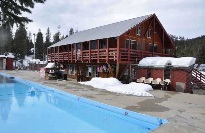 Exterior Pool View at Silver Creek Plunge