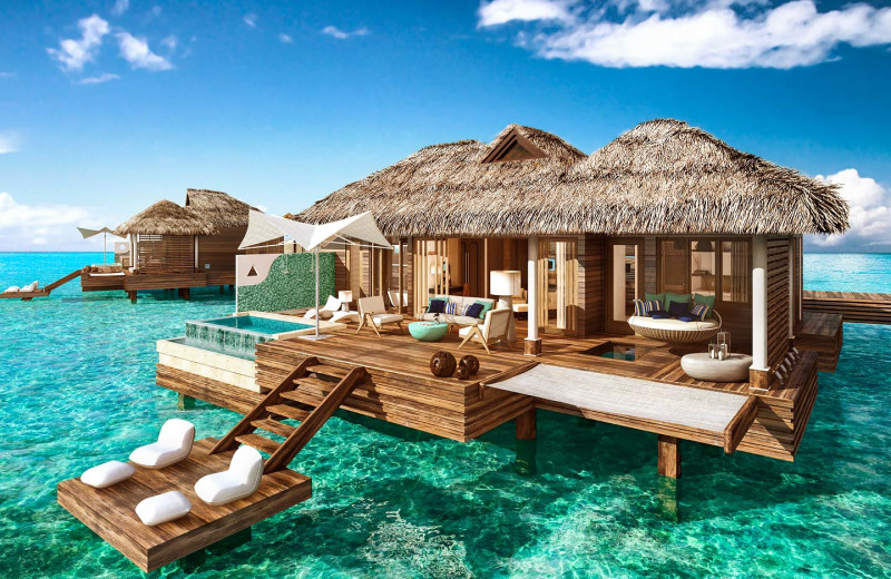 Villa at Sandals Royal Caribbean Resort & Offshore Island.