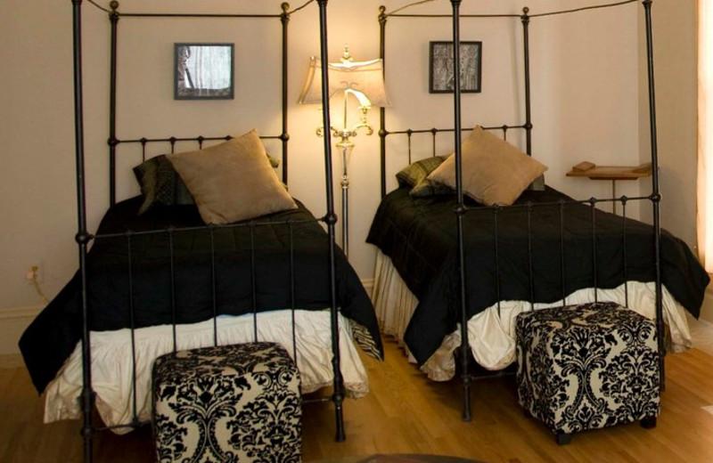 Guest bedroom at Rosewood Bed & Breakfast Inn.