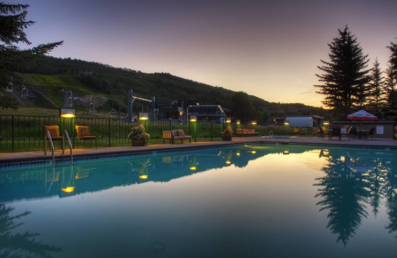 Outdoor pool at Inn at Aspen.
