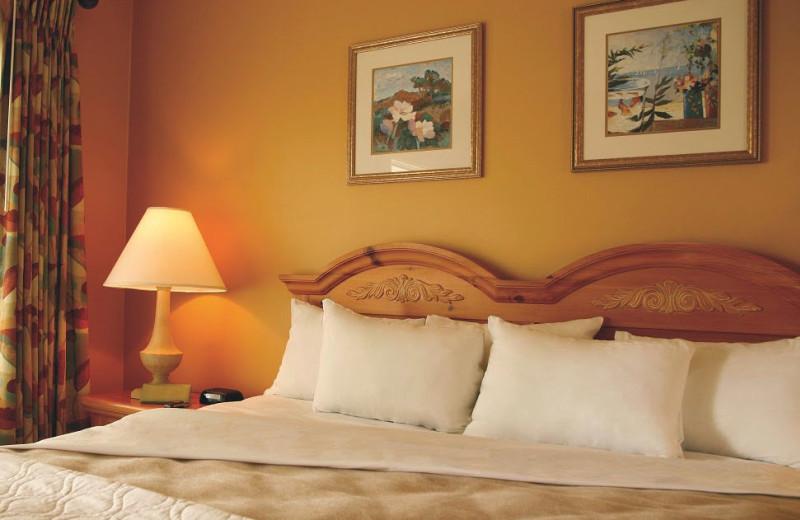 Resort bedroom at Gold Key Resorts.