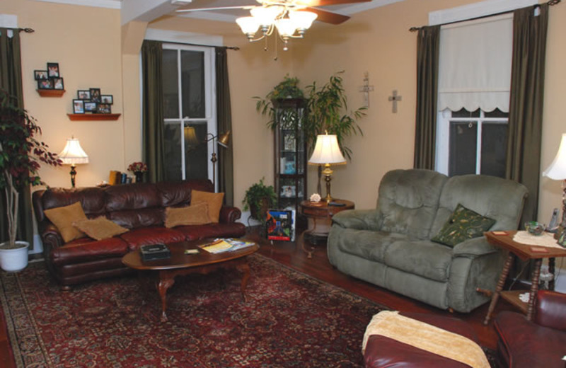 Living Area at Stanley-Fisher House