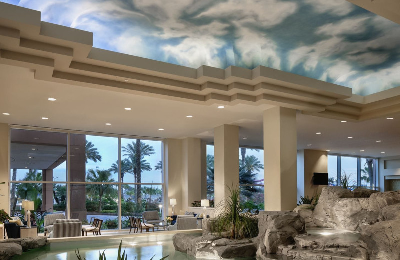 Lounge at Moody Gardens Hotel Spa & Convention Center.