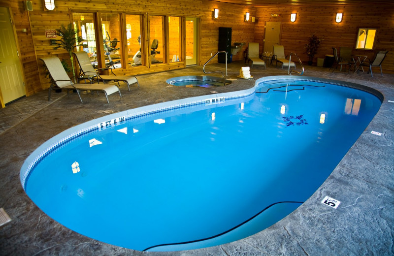 Indoor pool at The French Manor Inn and Spa.