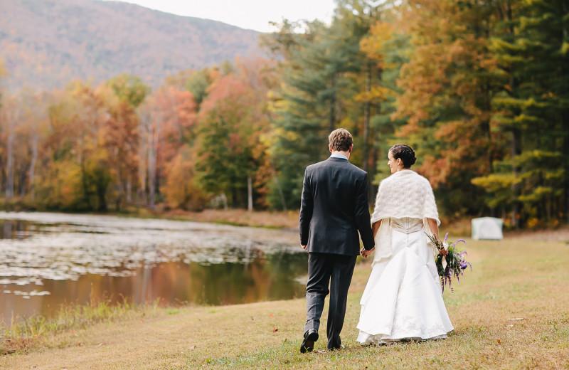 Peaceful moment alone at a Montfair Resort Farm wedding near Charlottesville, VA.