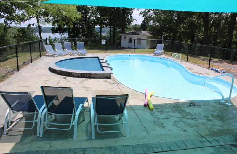 Pool at Lynnhurst Family Resort.