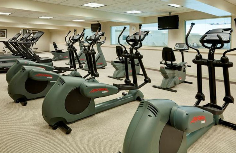 Fitness Center at Holiday Inn Chicago Mart Plaza River North