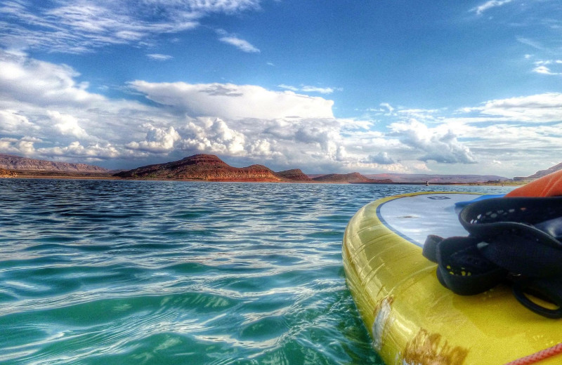 Kayaking at Red Mountain Resort & Spa.