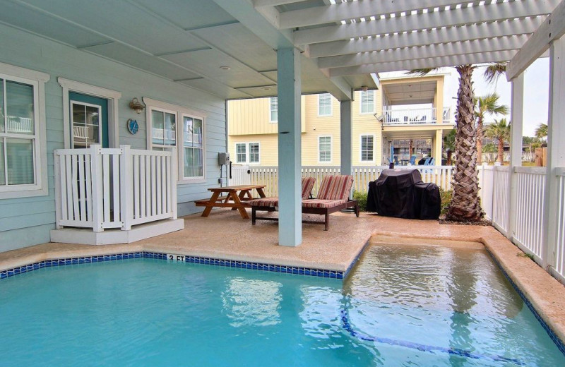 Rental pool at Silver Sands Realty.