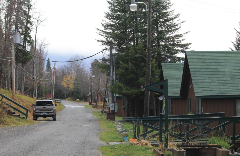 Cabins at Grant's Camps.