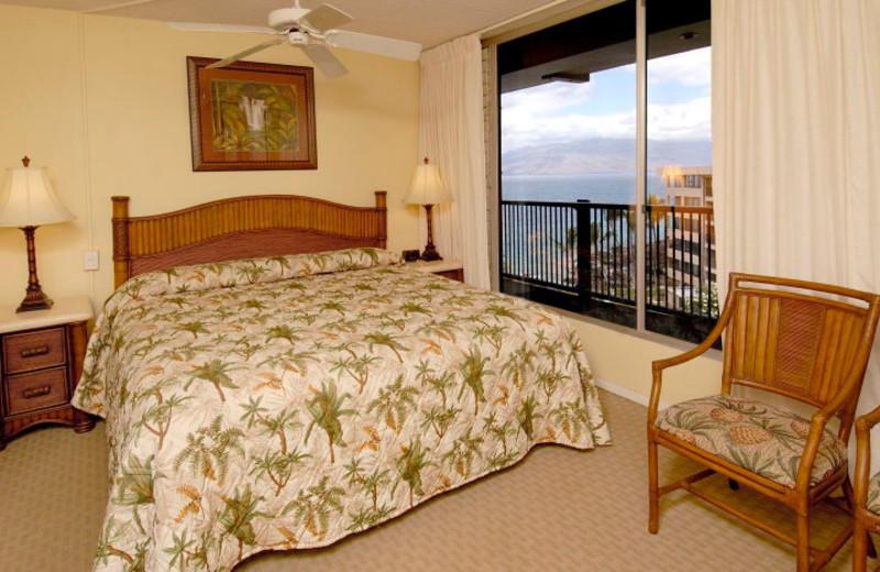Guest room at Mana Kai Maui.
