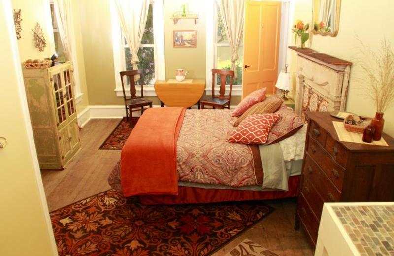 Guest room at Barnard House Bed & Breakfast.