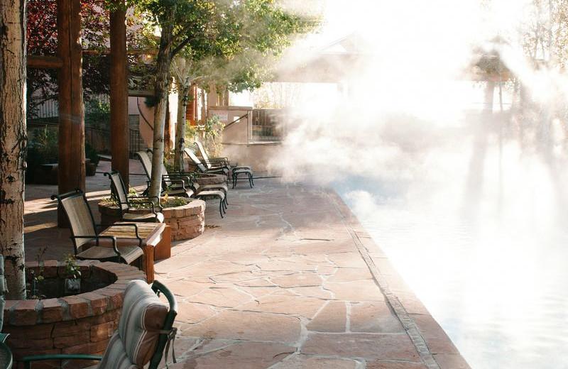 Outdoor Pool at Chipeta Solar Springs Resort