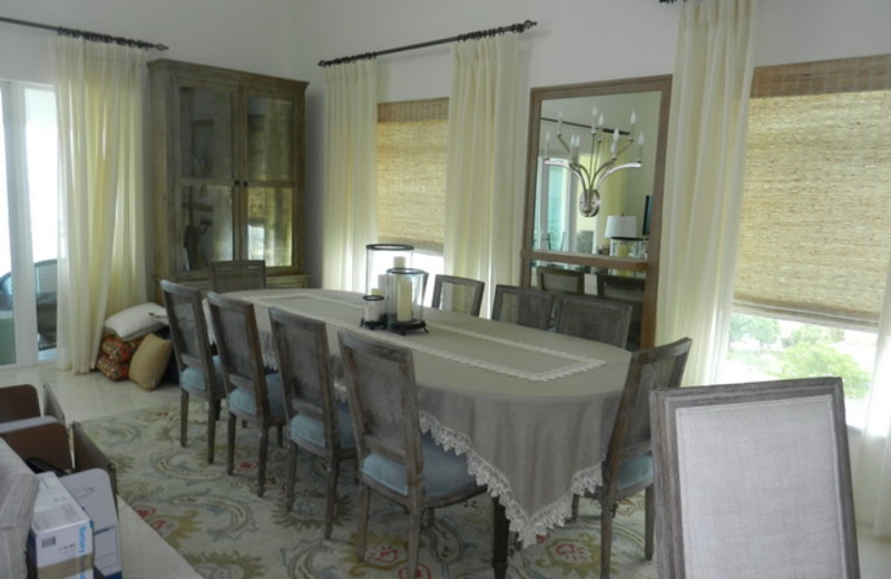 Guest dining room at HG Christie Ltd.