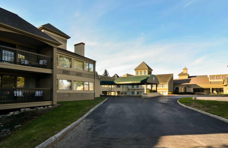 Exterior view of Toftrees Golf Resort and Conference Center.