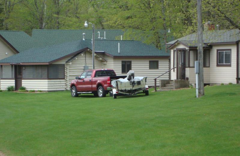 Cabins at Anchor Inn Resort.