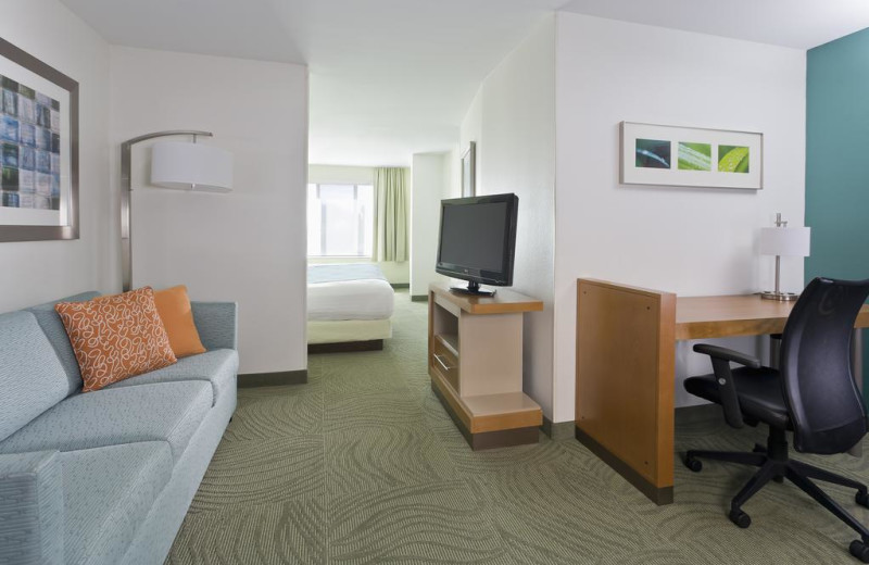 Guest room at SpringHill Suites Phoenix Metrocenter Mall/I-17.