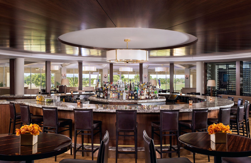 Bar at Trump National Doral Miami.