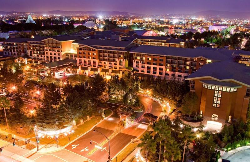 Exterior view of Disneyland Resort.