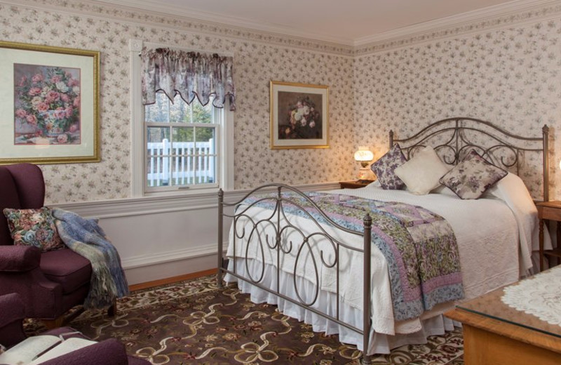 Guest room at Rabbit Hill Inn.
