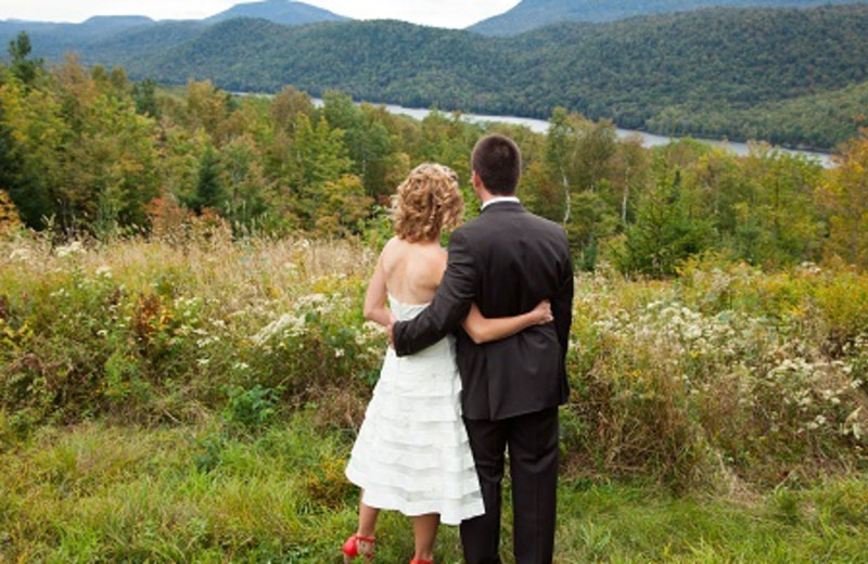Married Couple at Garnet Hill Lodge