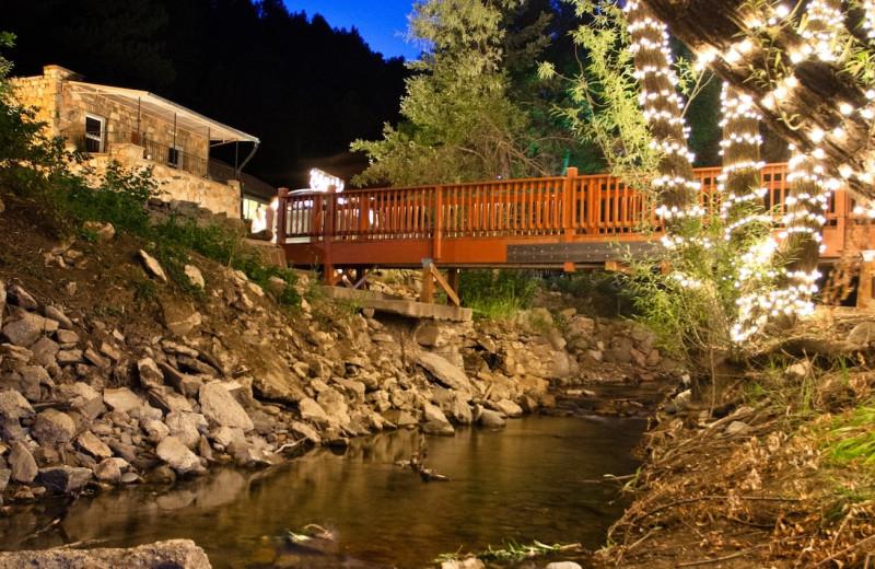 Exterior view of Boulder Adventure Lodge.