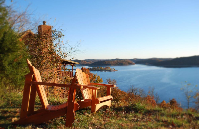 Chairs With A View at Sugar Ridge Resort