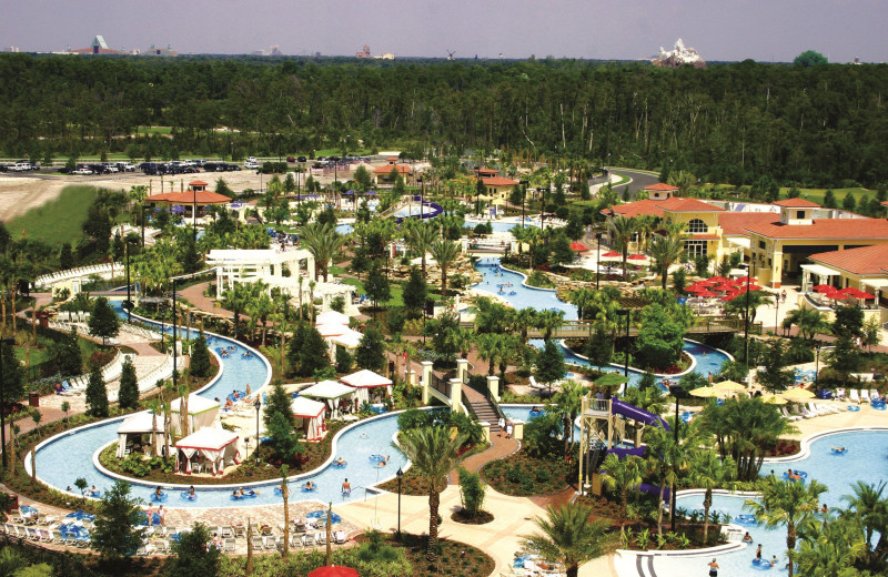 Waterpark at Holiday Inn Club Vacations at Orange Lake Resort.