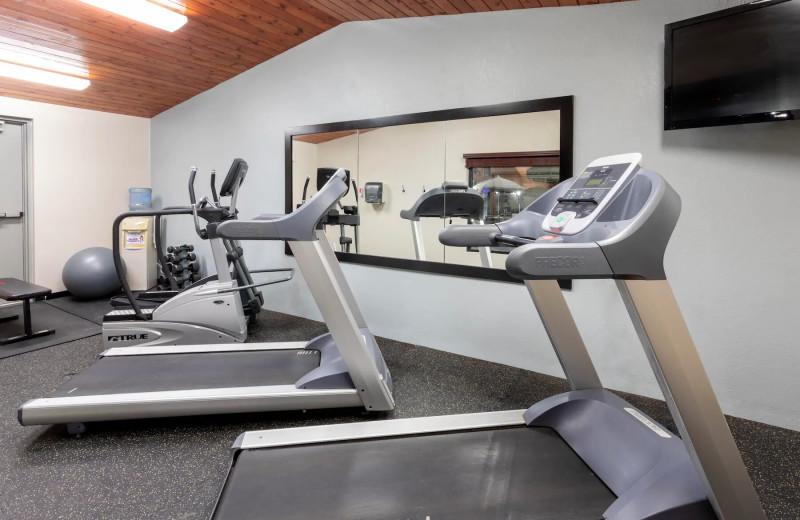Fitness room at AmericInn by Wyndham - Fergus Falls.
