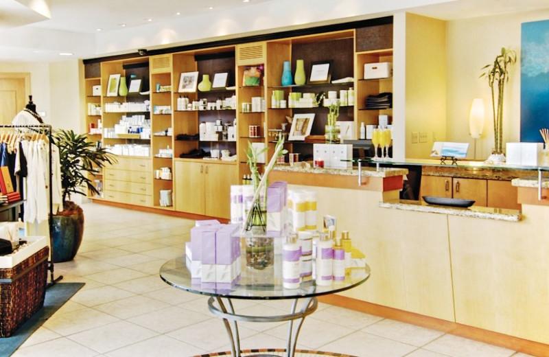 Gift shop at Loews Coronado Bay Resort.