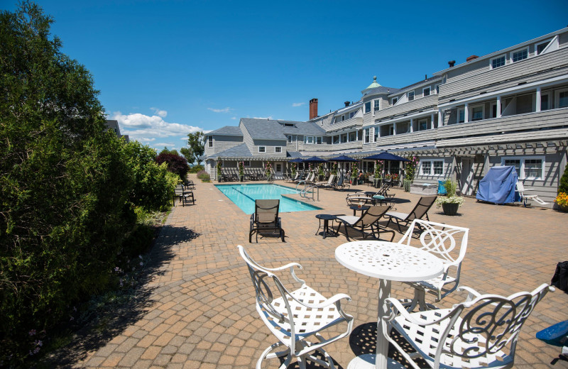 Pool at Black Point Inn.