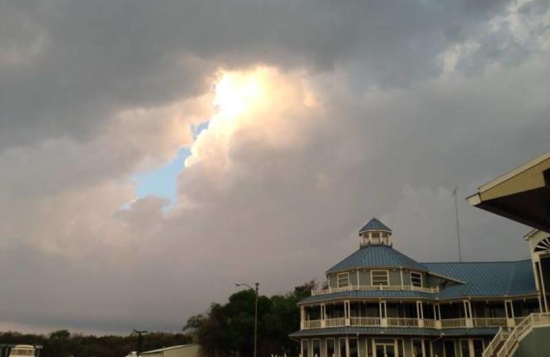 Exterior view of Highport Resort & Marina.