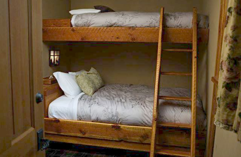 Bunk Beds at Paintbox Lodge