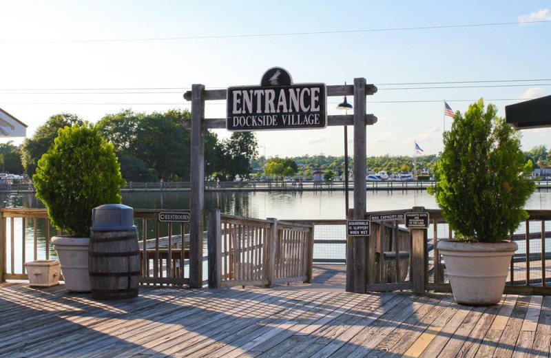 Docks at Myrtle Beach Vacation Rentals.