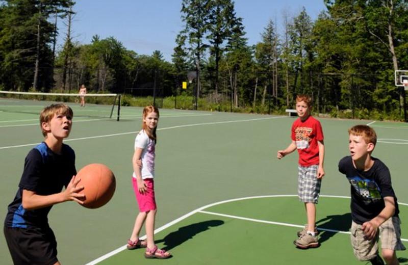 Basketball at Rocky Crest Golf Resort.