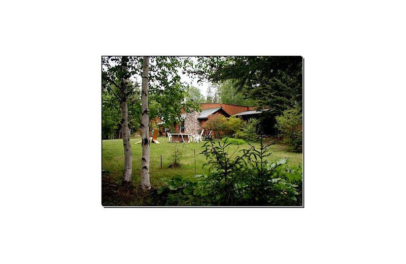 Lodge exterior at Pine Point Lodge & Outposts.