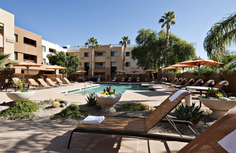 Outdoor pool at Courtyard Scottsdale North.