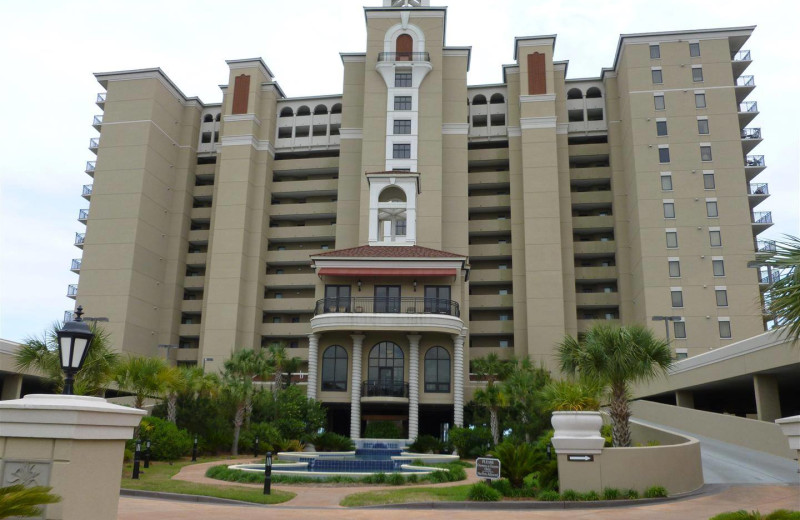 Exterior view of Myrtle Beach Vacation Rentals.