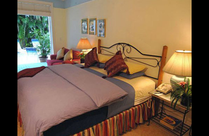 Guest room at The Heron House & Heron House Court.