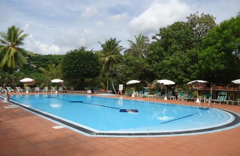 Outdoor pool at Tamarind Tree hotel.