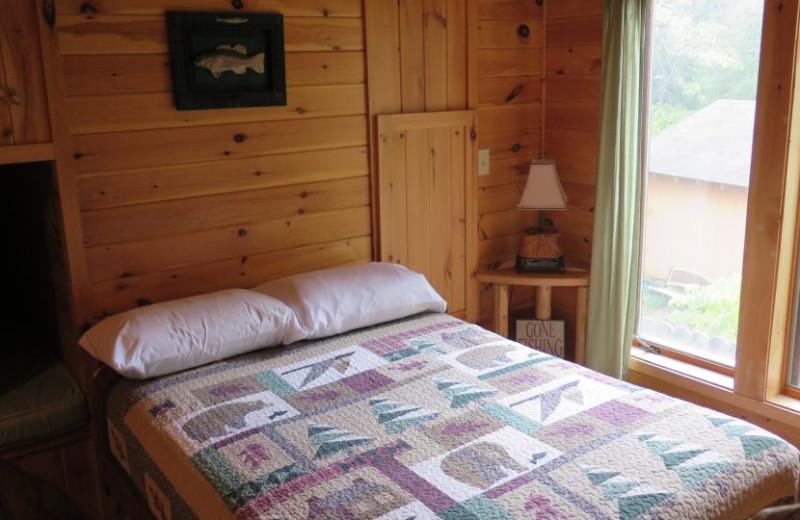Guest room at Sleeping Bear Resort.