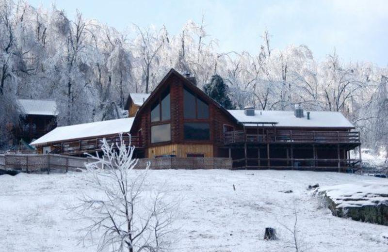 Lodge Exterior at Horseshoe Canyon Ranch
