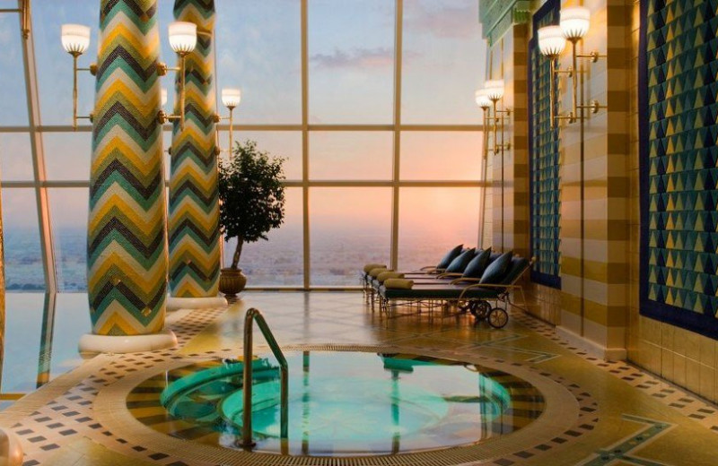 Spa at Burj Al Arab.
