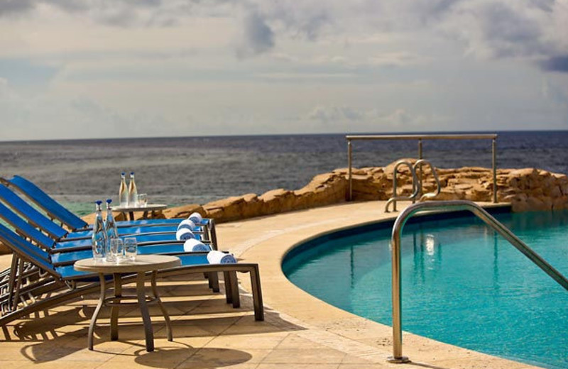 Outdoor pool at Renaissance Curacao Resort & Casino.