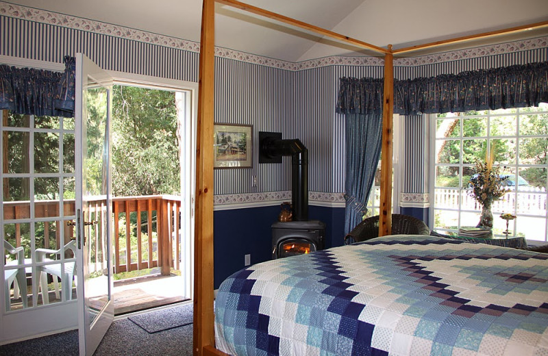 Guest room at McCaffrey House Bed & Breakfast Inn.