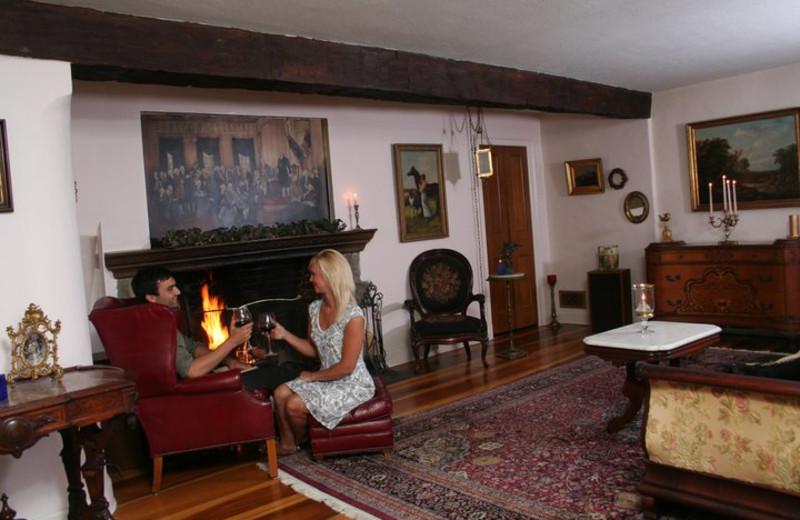 Interior view at Morgan-Samuels Inn.