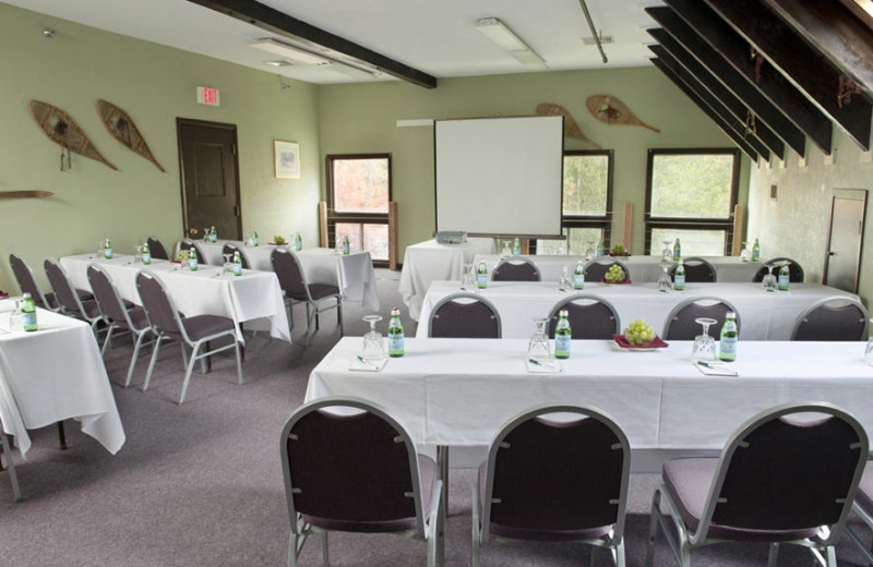 Conference room at Waterville Valley Resort.