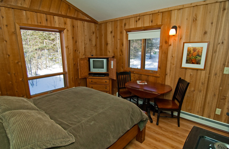 Cabin Bedroom at Cable Nature Lodge