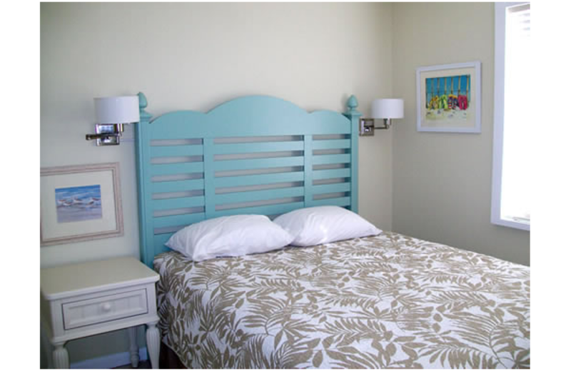 Guest bedroom at Berkshire by the Sea.