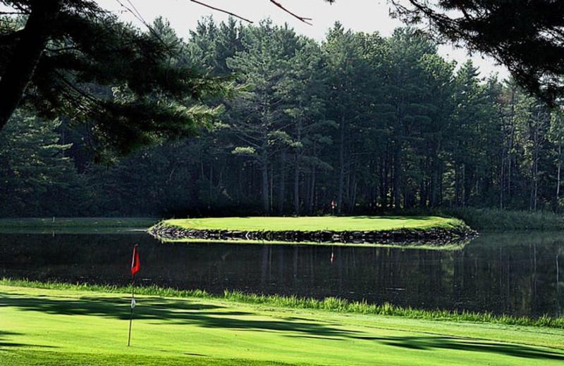 Golfing at Rainbow Golf Course.